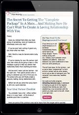 Free Expert Love Advice Newsletter